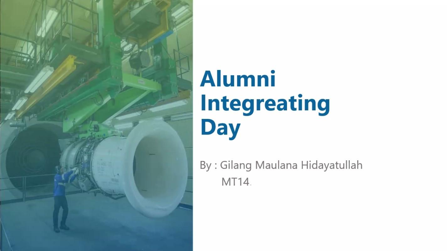 Alumni Integrating Day